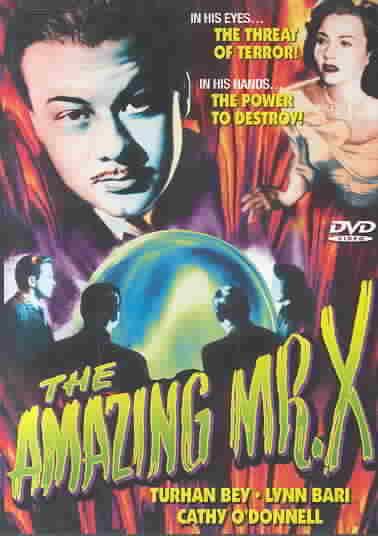 AMAZING MR. X BY BEY,TURHAN (DVD)